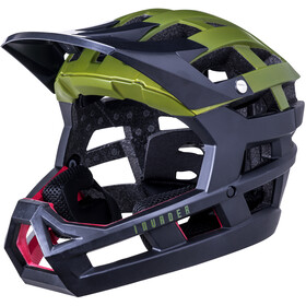 Kali Invader SLD Casco, matt olive/black